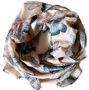 Jarní MOTÝLKOVÝ šátek GIIL