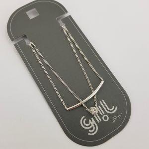 Jemný náramek s kamínkovou perličkou GIIL