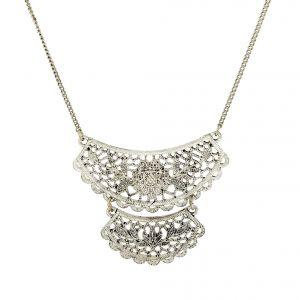 Kovový masivní náhrdelník
