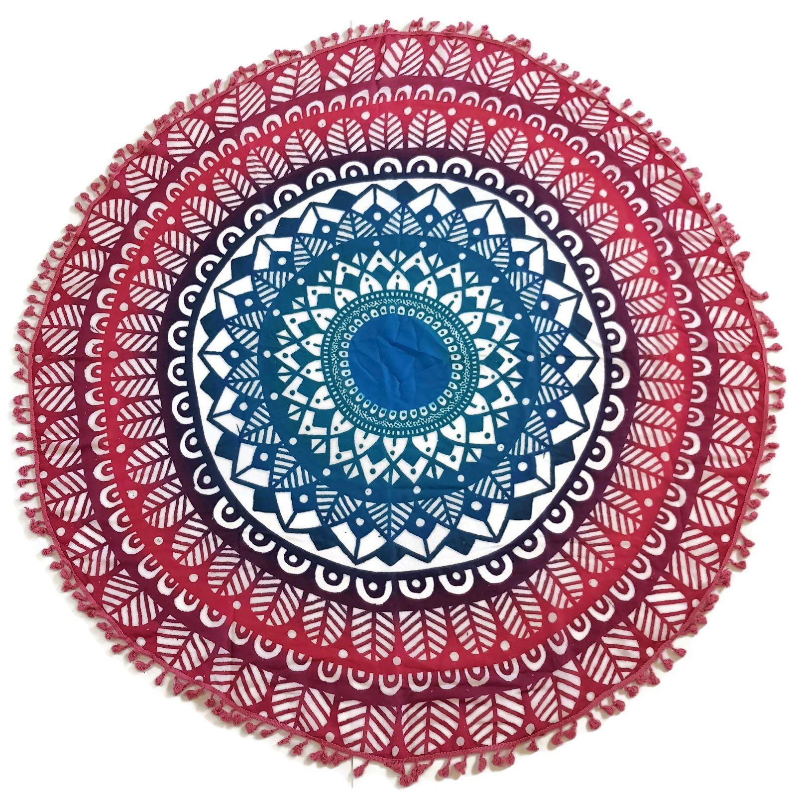 Šátek ve tvaru mandaly - indiánský vzor GIIL