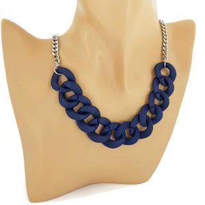 Náhrdelník masivní modrý řetěz GIIL