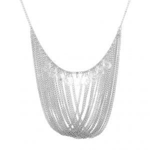 Řetízkový náhrdelník s několika kamínky