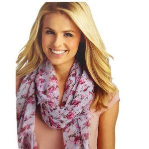 Šátek s růžičkami