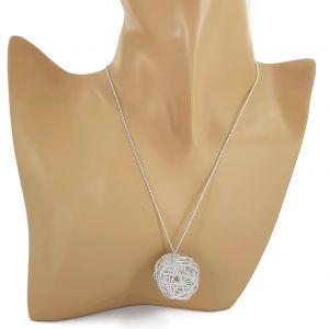 Zirkonový náhrdelník s kuličkou