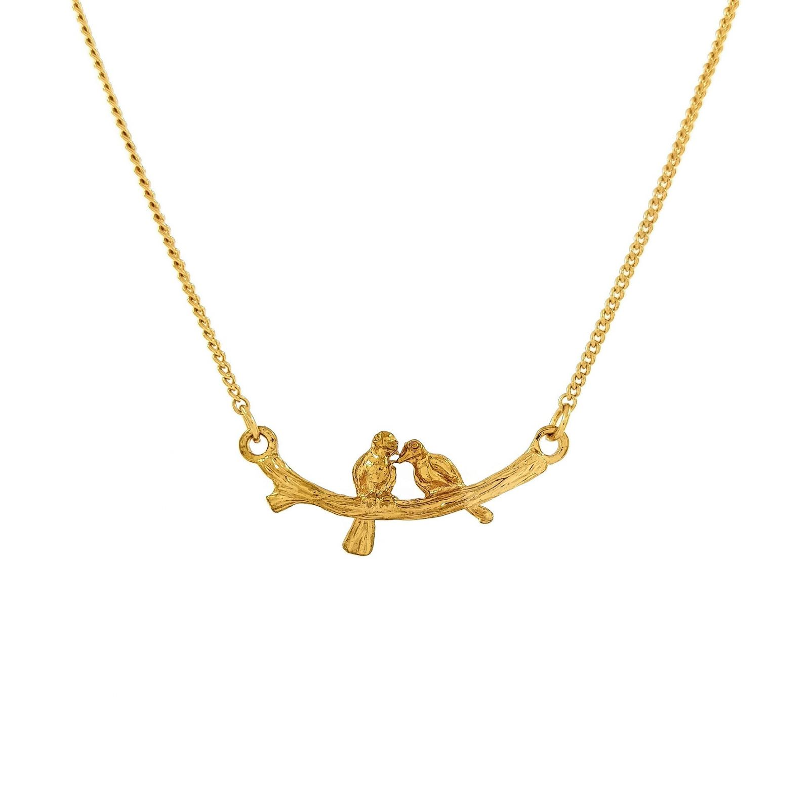 Zlatý řetízek s ptáčky GIIL