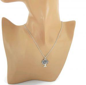 Stříbrný náhrdelník se stromečkem GIIL