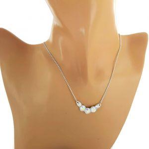 náhrdelník Swarovski s duhovými křišťály 1