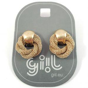 Zlaté náušnice ve tvaru věnce GIIL