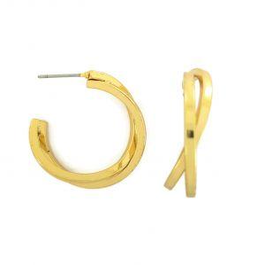 Zlaté překřížené půlkruhy