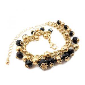Zlatočerný náhrdelník