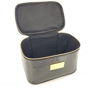 Černá kosmetická taška tvaru kufříku GIIL
