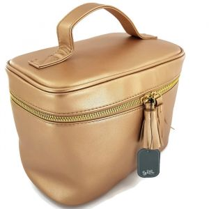 Kosmetická taška tvaru kufříku