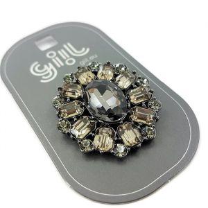 Luxusní kamínková brož GIIL