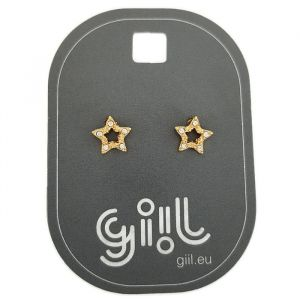 Bodové náušnice hvězdy GIIL