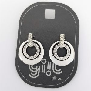 Náušnice dvojité kroužky GIIL