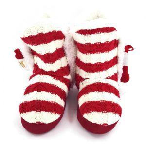 Vánoční dámské pantofle