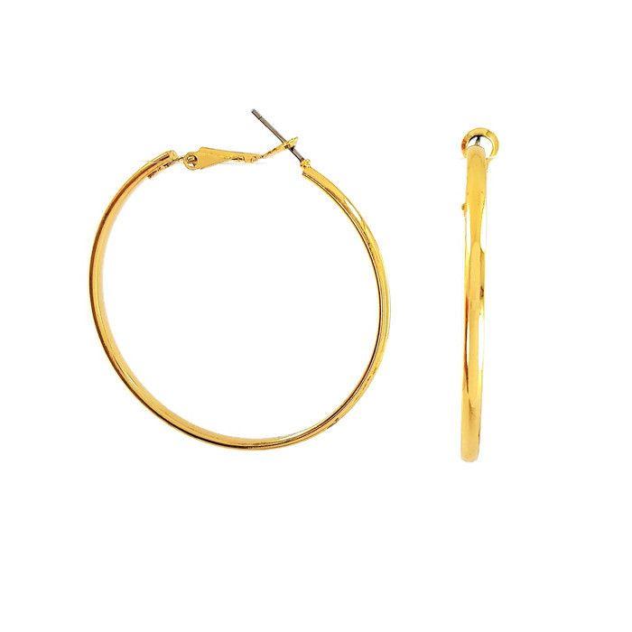 Zlaté kruhy střední velikosti GIIL