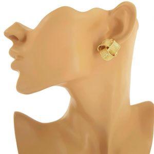 Zlaté náušnice velké uzlíky GIIL 295a12a695a