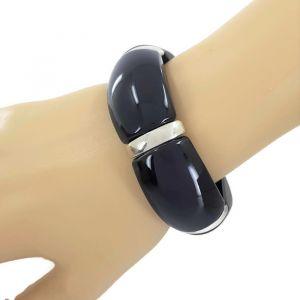 Černý náramek na gumičku GIIL