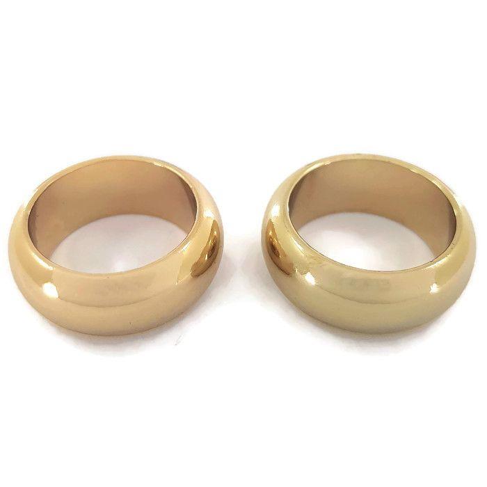 Dva zlaté prsteny GIIL