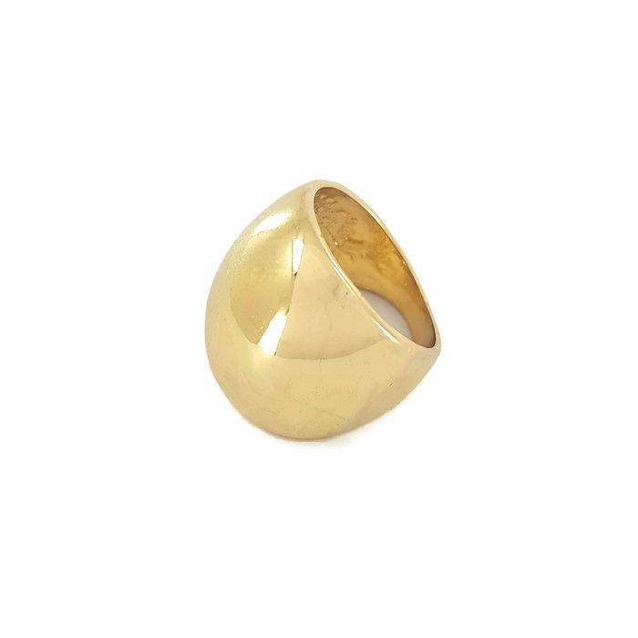 Velký mohutný zlatý prsten GIIL