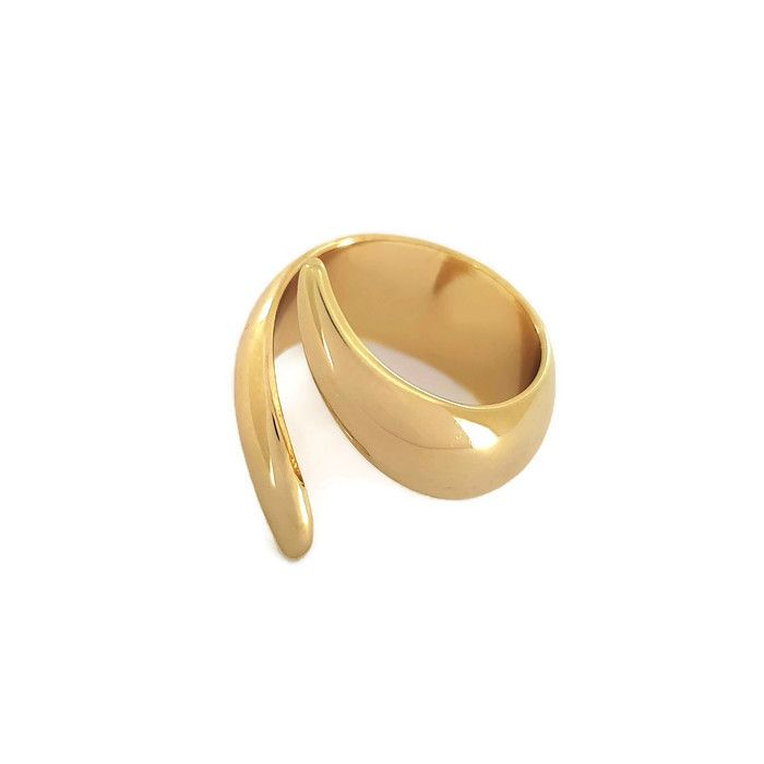 Zlatý prstýnek obtočený z jedné vlny GIIL