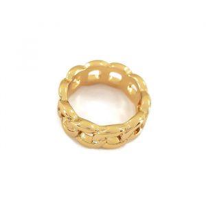 Zlatý prstýnek ze spletených ok řetěz GIIL