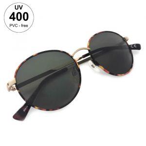 Dámské vzorované sluneční brýle kulatého tvaru GIIL