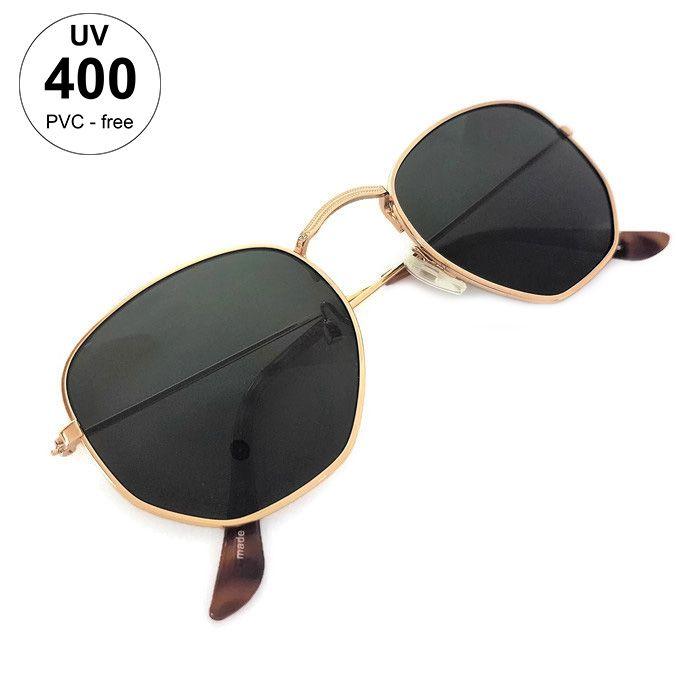 Dámské sluneční brýle s hranatými skly GIIL