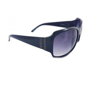 Dámské sluneční brýle černé barvy s velkými skly GIIL