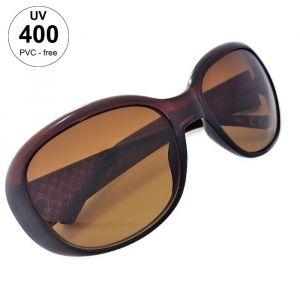 Dámské sluneční brýle tmavě hnědé barvy GIIL