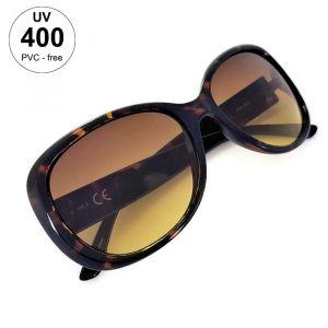 Dámské tmavé vzorované sluneční brýle GIIL