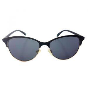 Dámské sluneční brýle se zakulacenými skly a zlatým pokovením GIIL