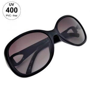 Černé dámské sluneční brýle s masivními stranicemi GIIL
