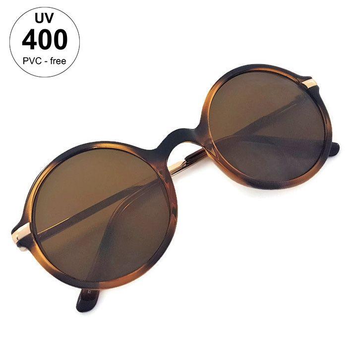 Dámské vzorované kulaté brýle GIIL