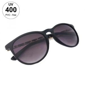 Dámské černé sluneční brýle s netradiční stranicí GIIL