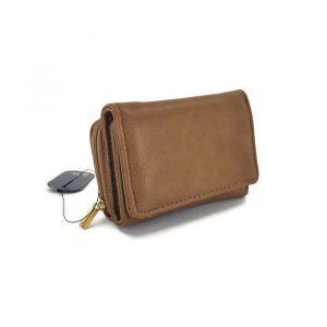 Malá dámská peněženka v barvě camel