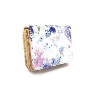 Dámská peněženka s motivem květin