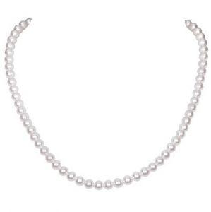 Perlový jednoduchý náhrdelník
