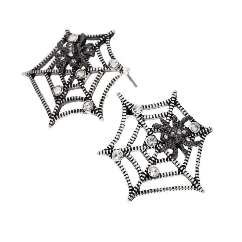Pavučina s malým pavoučkem