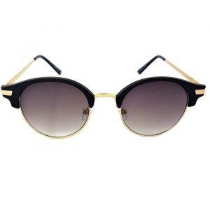 Sluneční brýle s černou poloobrubou