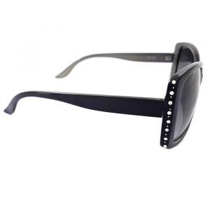 Sluneční brýle s ozdobnými tečkami na okraji obruby