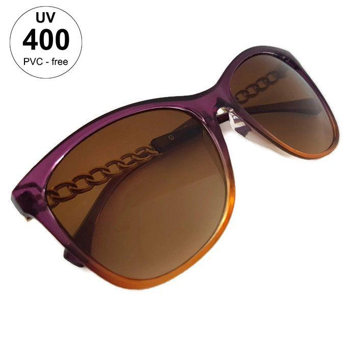 Fialové brýle Giil s pokovením stránic