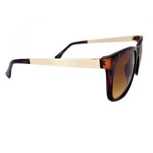 Sluneční brýle Gill tygrované s pokovenou stránicí