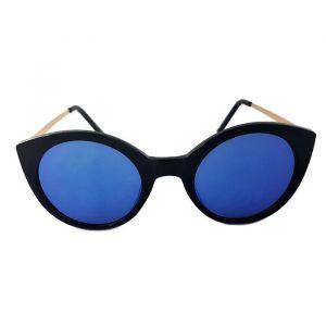 Černé brýle ve stylu kočičích očí