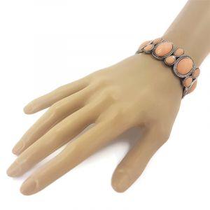 Masivní oranžový náramek na gumičku