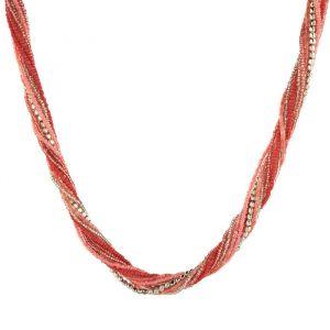 Provázkovitý náhrdelník s mnoha variantami korálků a perliček GIIL