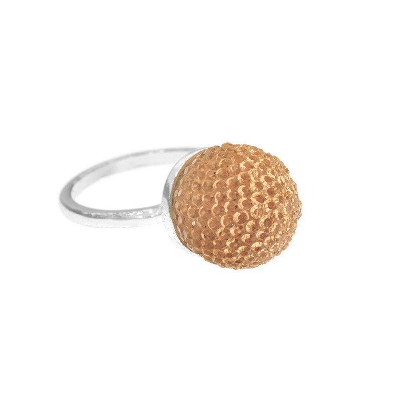 Oranžový bonbonkový prstýnek GIIL