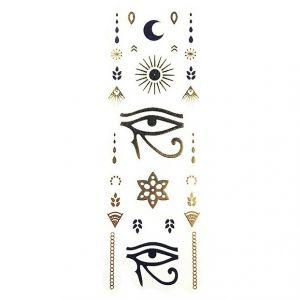Zlatavé tetovačky: egyptské oko